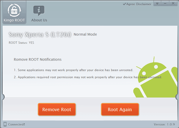 Root Xperia S LT26i Succeeded